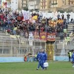 Lo spicchio dei tifosi del Messina