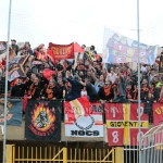 I tifosi in trasferta ad Agrigento