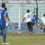 Il gol di Cruz, Fidelis Andria in vantaggio