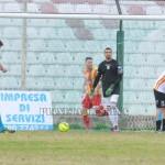 L'esultanza di Caturano dopo il terzo gol