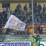 I tifosi del Messina a Cosenza