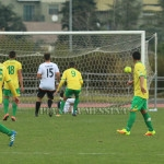 Il primo gol di Foggia in netto fuorigioco