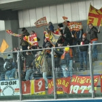 I tifosi messinesi in Puglia