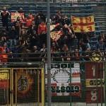 I tifosi del Messina a Pagani