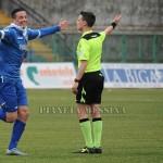 La gioia di Alcibiade dopo il gol