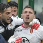 Milinkovic dopo il gol del momentaneo vantaggio