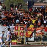 """I tifosi al seguito al """"Pinto"""" di Caserta"""