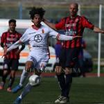 Mancini tra i più attivi del Messina a Caserta