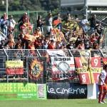 I tifosi del Messina a Fondi