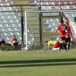 Il gol vittoria degli ospiti firmato da Gualdi