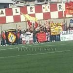 I supporter giallorossi a Roccella