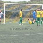 Mascari esulta dopo il gol vittoria
