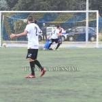Il gol del vantaggio del Messina sigkato da Rosafio