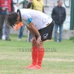 La disperazione di Migliorini a fine match