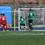 Il gol della Palmese segnato da Molinaro