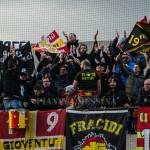 Supporter giallorossi a Nocera