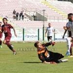 Il primo gol del Messina siglato da Ragosta