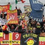 I tifosi del Messina a Vibo
