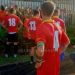 """I calciatori del Messina a """"rapporto"""" dai tifosi alla fine del derby"""