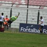 Il primo gol dell'Acireale segnato da Manfrellotti