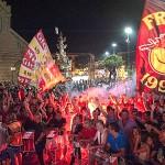 I tifosi accolgono il Messina